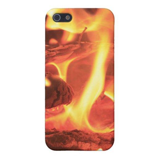 Clavo en el fuego iPhone 5 funda