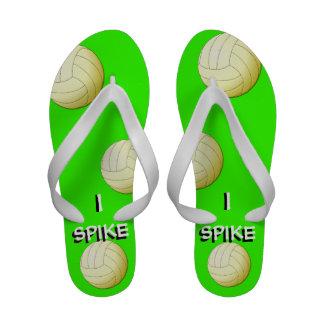 Clavo los flips-flopes de Libero del voleibol Sandalias De Playa