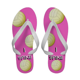 Clavo los flips-flopes de Libero del voleibol Sandalias