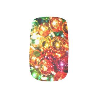 Clavos de la moza descarada del tiempo del carnava stickers para uñas