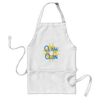 Claw clan delantal