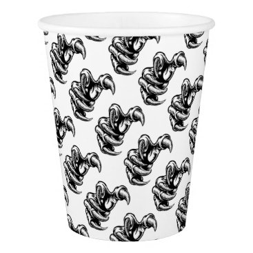 Claw Hand Monster Talons Paper Cup