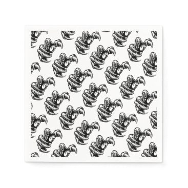 Claw Hand Monster Talons Paper Napkin
