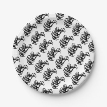 Claw Hand Monster Talons Paper Plate