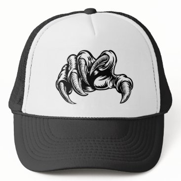 Claw Hand Monster Talons Trucker Hat