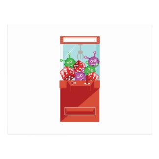 Claw Machine Postcard