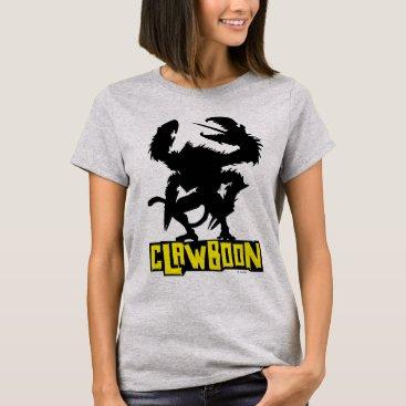 Disney Themed Clawboon Silhouette T-Shirt