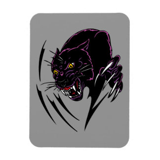 Clawing Panther Magnet