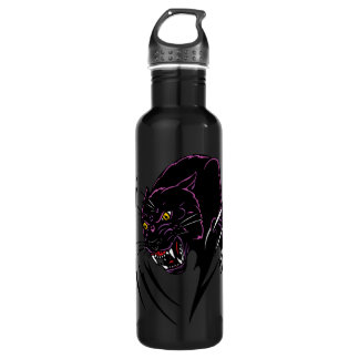Clawing Panther Water Bottle