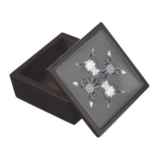 Claws and Fangs Cross Kaleidoscope Mandala Gift Box