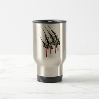 Claws Ripping 15 Oz Stainless Steel Travel Mug