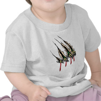 Claws Ripping T-shirts