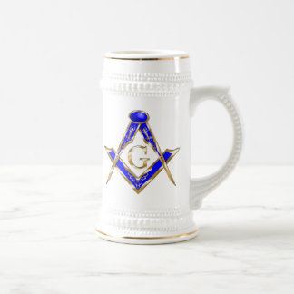 Clawson Square and Compasses 18 Oz Beer Stein