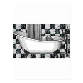 CLAWTUB BATH TESSA 1.jpg Post Card