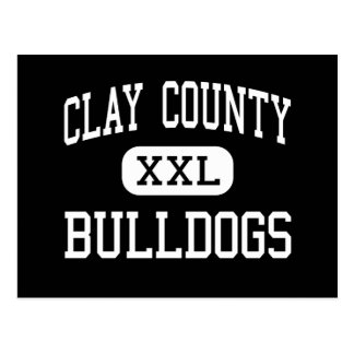 Clay County - Bulldogs - High - Celina Tennessee Postcard