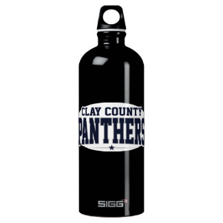 Clay County High School; Panthers Aluminum Water Bottle