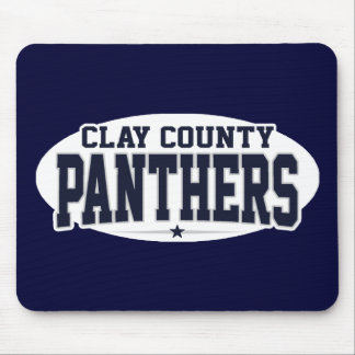 Clay County High School; Panthers Mouse Pad