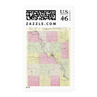 Clay County Kansas Postage Stamps