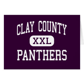 Clay County - Panthers - High - Ashland Alabama Cards