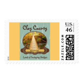 CLAY COUNTY SWINGING BRIDGES STAMPS