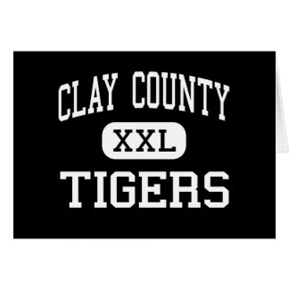 Clay County - Tigers - High - Manchester Kentucky Cards