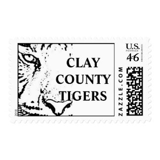 CLAY COUNTY TIGERS STAMPS