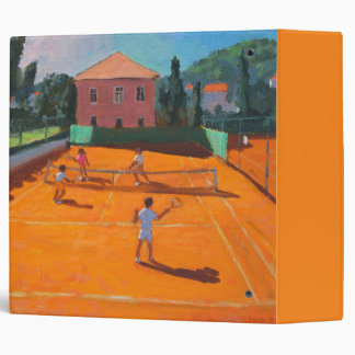 Clay Court Tennis Lapad Croatia 2012 Binder