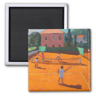 Clay Court Tennis Lapad Croatia 2012 Magnet