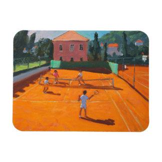 Clay Court Tennis Lapad Croatia 2012 Magnet