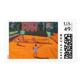 Clay Court Tennis Lapad Croatia 2012 Stamps