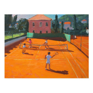 Clay Court Tennis Lapad Croatia 2012 Postcard
