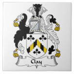 Clay Family Crest Tiles