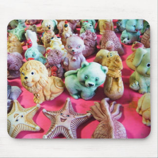Clay Figurines Mouse Pad