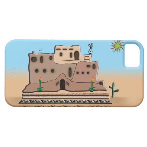 Clay House iPhone 5 Case