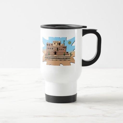 Clay House Coffee Mug