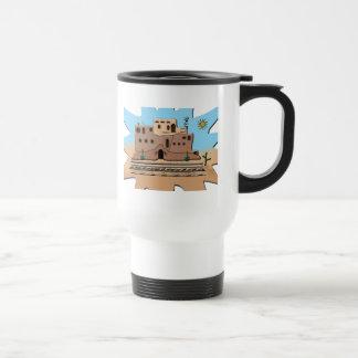 Clay House 15 Oz Stainless Steel Travel Mug