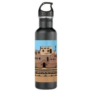 Clay House Water Bottle