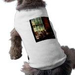 Clay Jars on Windowsill Pet Tee Shirt