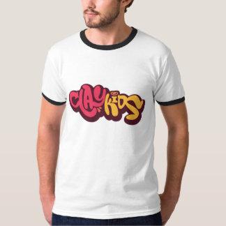 Clay Kids logo Tees