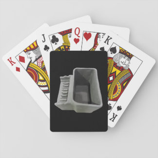 Clay Piano Pot Playing Cards