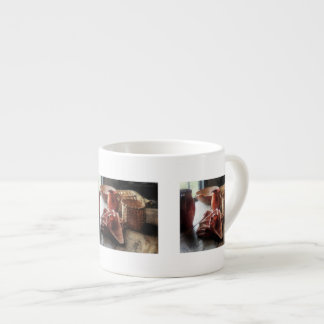 Clay Pitchers Bowl and Baskets Espresso Mugs