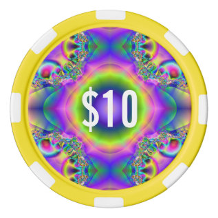 Clay Poker Chips By Snapdaddy $10, Customize! at Zazzle