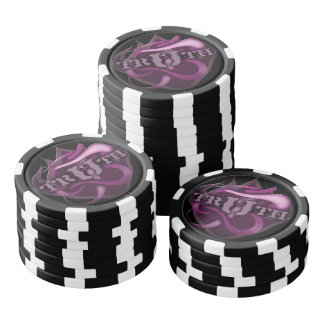 Clay Poker Chips TRUTH LOGO