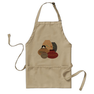 Clay Pots Adult Apron
