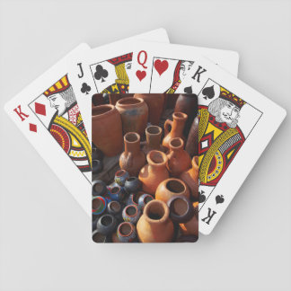Clay Pots, Hazyview, Mpumalanga, South Africa Playing Cards