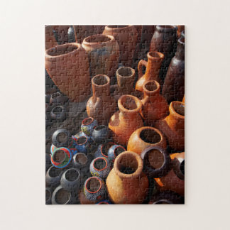 Clay Pots, Hazyview, Mpumalanga, South Africa Puzzle