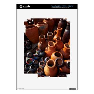 Clay Pots, Hazyview, Mpumalanga, South Africa iPad 3 Skins