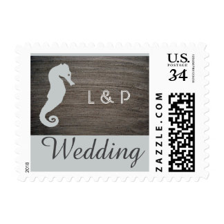 Clay Seahorse Postage Stamp