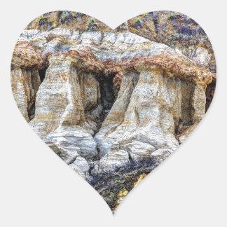 Clay Sentinels Heart Sticker