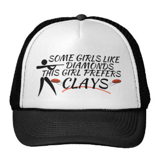 Clay Shooting for Girls Trucker Hat